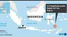 6.9-magnitude quake strikes off Indonesia: USGS