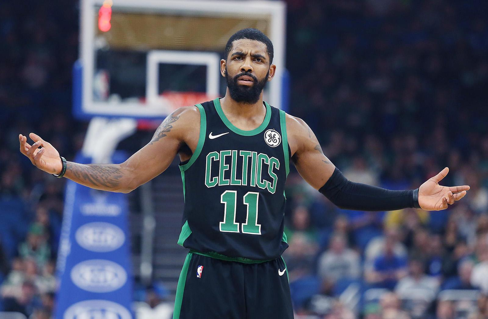 0f9a0d4cf74e Kyrie Irving fired up at Gordon Hayward after last-second shot costs  Celtics game vs. Magic