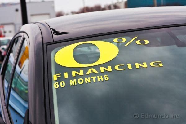Zero Percent Car Loans Deals