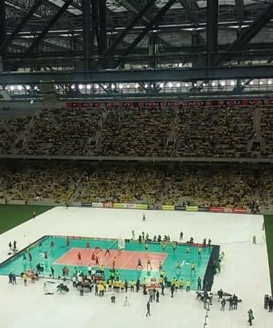 Dirigentes oficializam realização da Fase Final da Liga Mundial em Curitiba