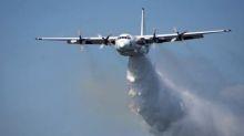 Three US firefighters killed in air tanker crash fighting bushfires in Australia