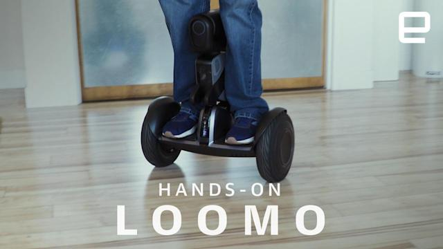Segway's Loomo is the robotic hoverboard nobody asked for