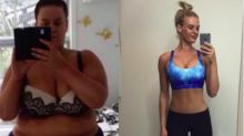 Unglaubliches Vorher-nachher-Selfie: Diese Frau nahm in weniger als einem Jahr 92 Kilo ab
