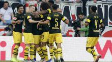 Dortmund crush Stuttgart in German league