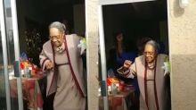 Em seu aniversário de 100 anos, ela mostrou que ainda arrasa na dança