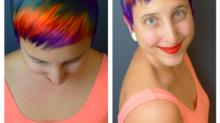 Les cheveux arc-en-ciel : mon style capillaire repousse toutes les limites