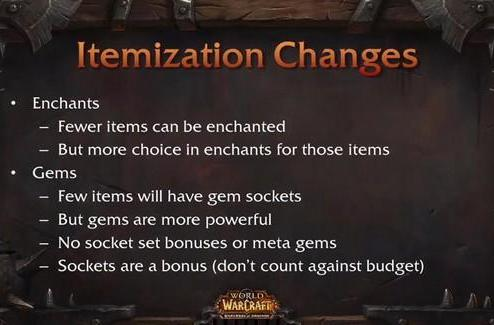 Will fewer gems and enchants in Warlords of Draenor affect profession profitability?