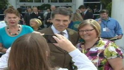 Rick Perry Visits Greenville