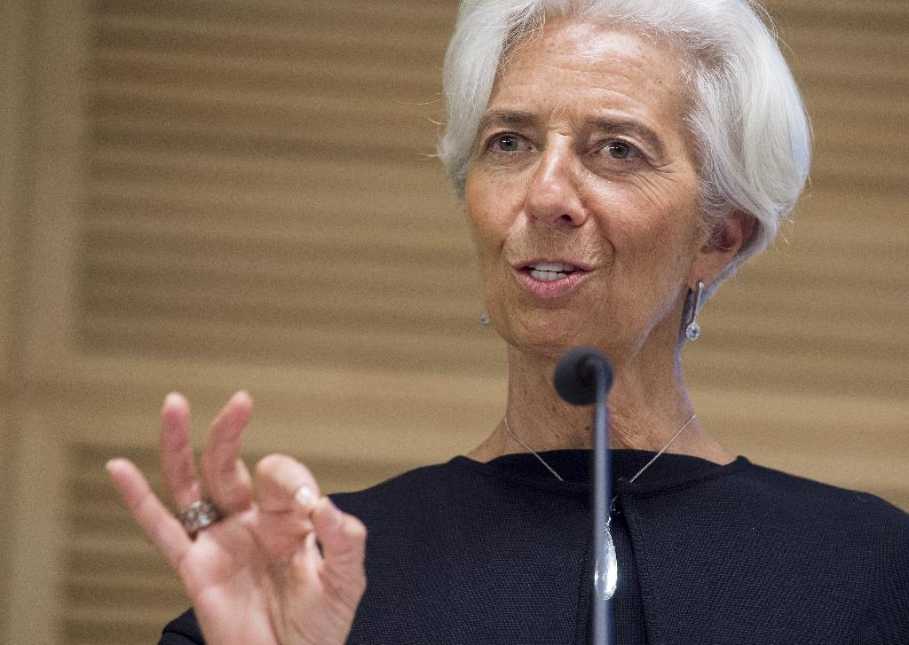 IMF Managing Director Christine Lagarde goes on trial over her handling of a dispute with Bernard Tapie, a former government minister (AFP Photo/SAUL LOEB)