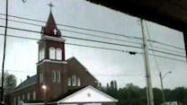 Lightning Strike at Maine Church Caught on Camera