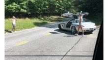 Justin Bieber Directing Traffic In The Hamptons Is Delightfully Weird