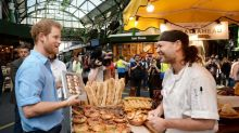 Prince Harry visits Borough Market and praises 'strength' of London, following terror attack