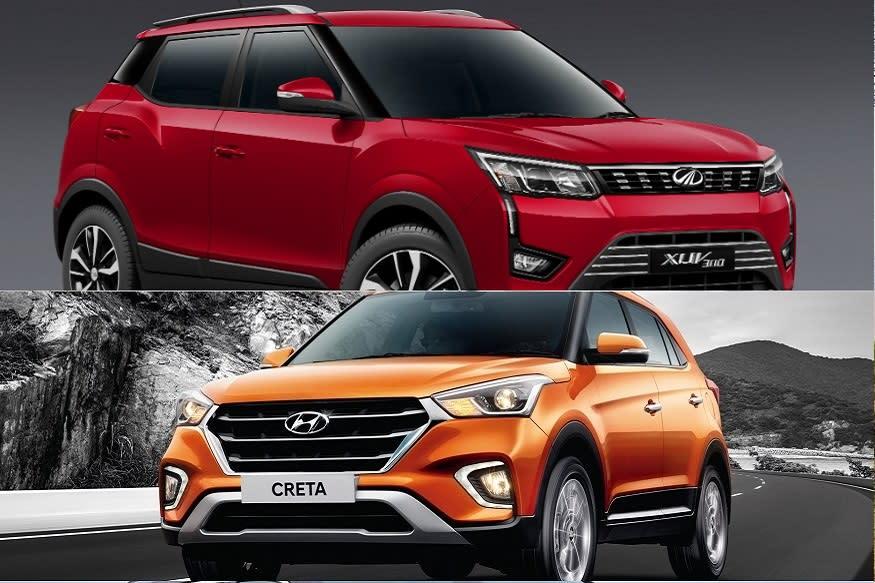 2019 Hyundai Creta vs Mahindra XUV300 Compact SUV Spec Comparison