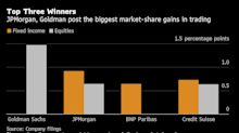 JPMorgan, Goldman Expand Trading Lead as Europe Retreats