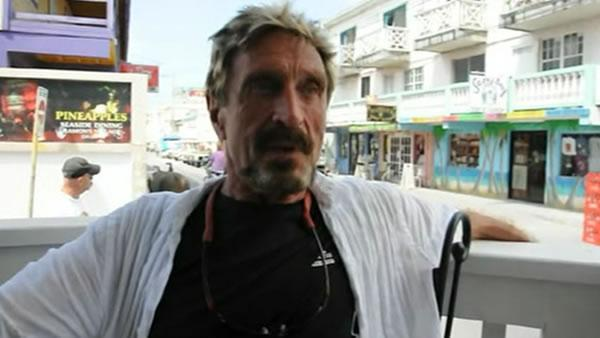 Belize police urge McAfee software founder to appear