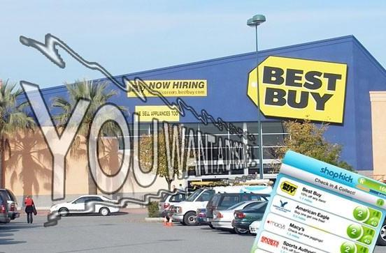 Best Buy trials support for Shopkick iPhone app in 187 stores