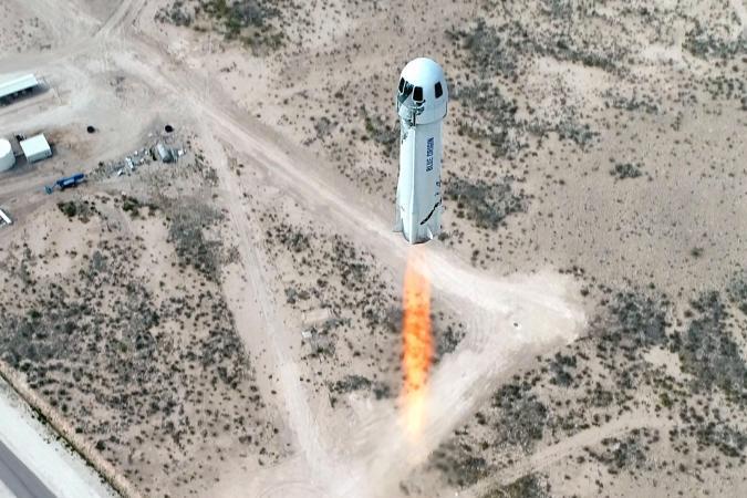 Blue Origin New Shepherd NS-15 test flight