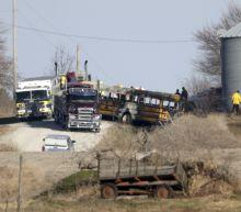 Authorities: 2 dead after school bus fire in western Iowa