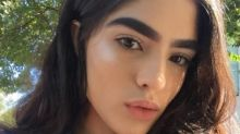 Teenager bullied over bushy eyebrows lands modelling contract