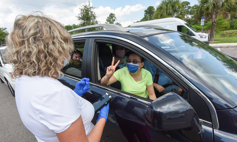 2 states helping to drive new coronavirus wave
