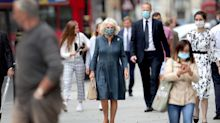 Camilla, Duchess of Cornwall Is First Royal to Be Seen in a Mask as She Walks to Work