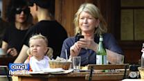 Martha Stewart's Mini-Me Lunch Date