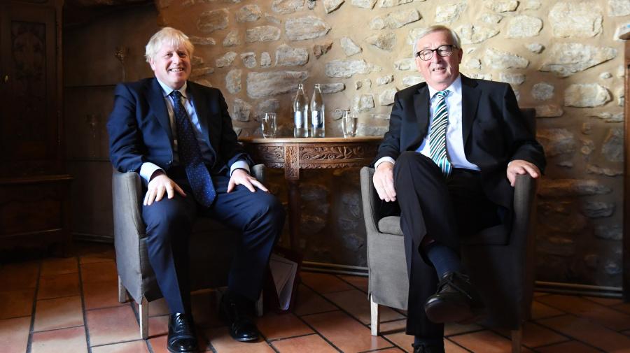 Johnson 'cautious' on Brexit progress