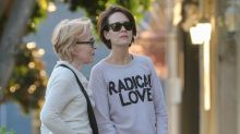 Sarah Paulson Steps Out With Girlfriend Holland Taylor for Shopping Trip -- See the Pic!
