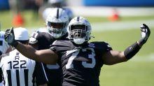 Raiders pass rush vs Panthers 'not good enough', won't get easier vs Saints
