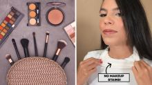 Model-approved hack prevents makeup from getting on your tops