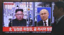 Rusia se prepara para la cumbre entre Kim y Putin