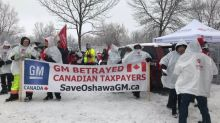 Protests will continue until GM decides to keep Oshawa plant open, union head vows