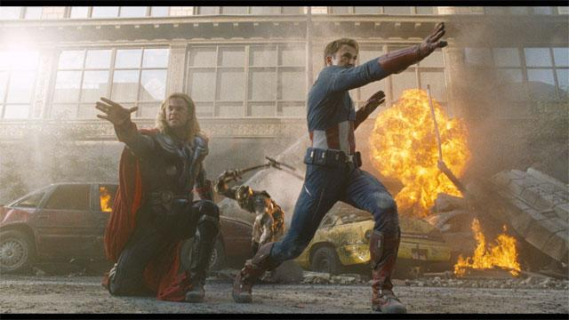 'The Avengers' Clip: Another Bout