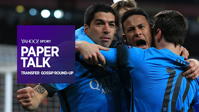 Paper talk: Neymar 'persuaded by Messi and Suarez to stay'