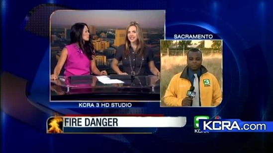 Red flag warning issued for Sacramento Valley