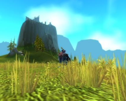 Around Azeroth: Thunder Bluff in the afternoon