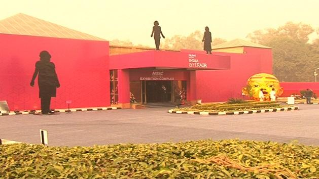 Artistic innovations, centre of attraction at India Art Fairrn