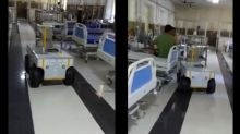 Robots are Serving Food and Medicines to Covid-19 Patients at Odisha's Railways Hospital