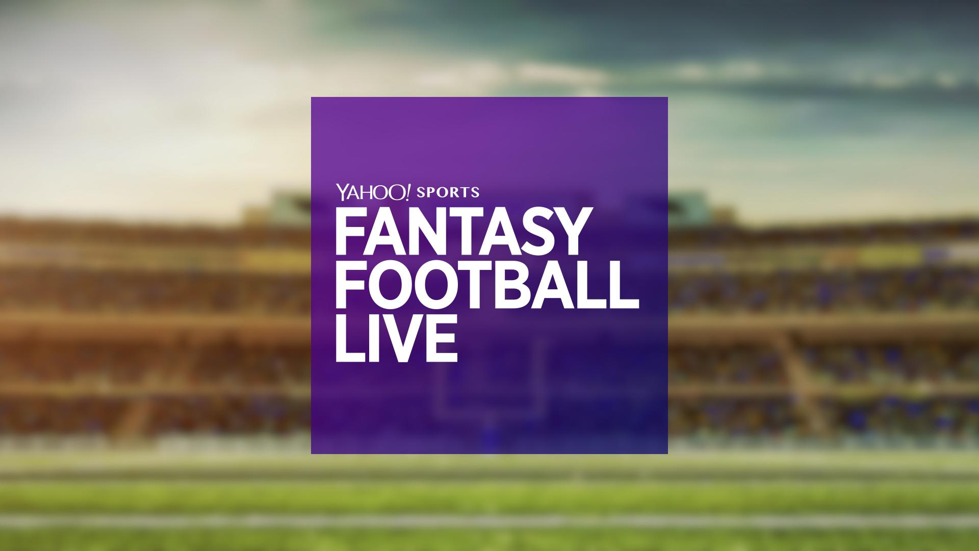 Watch 'Fantasy Football Live' for last-minute Week 11 advice