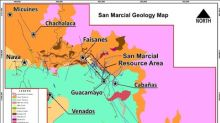High Grade Silver Results, Including 6 Metres at 232 g/t Ag, Enhance San Marcial Project