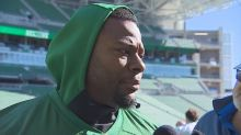 Riders' Charleston Hughes won't play Saturday following DUI arrest