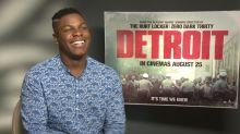 """EXCLUSIVA con John Boyega: """"Detroit es la película más importante de mi carrera"""""""