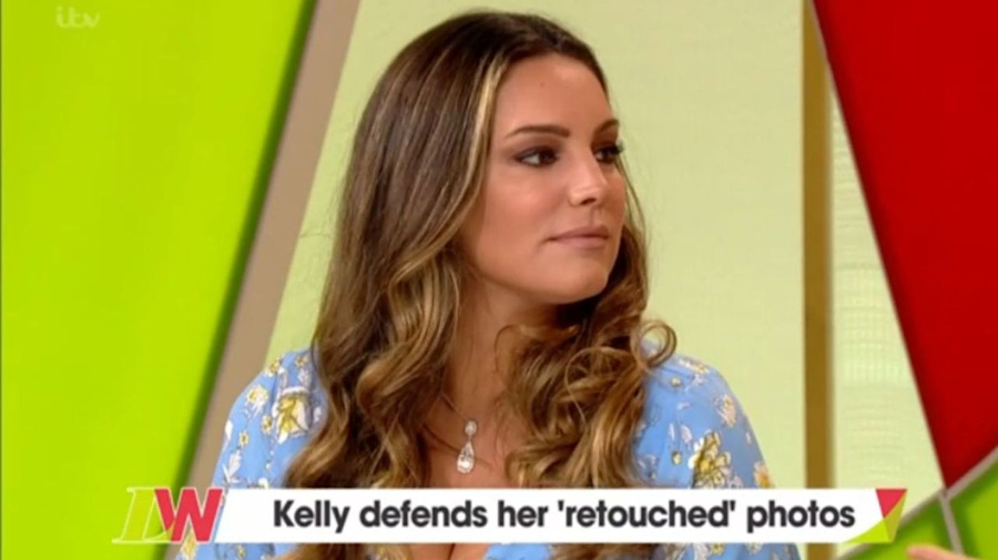 Loose Women's Kelly Brook defends retouching photos