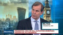 Prudential CEO on First-Half Results, Asian Growth