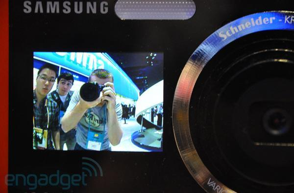 Samsung's camcorders and one big dummy camera at CES