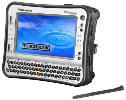 Panasonic's Atom-based UMPC Toughbook is officially official