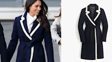 Meghan Markle's J.Crew Coat is 40 Percent Off Right Now