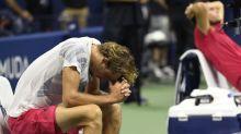 Zverev left reeling after Grand Slam slips through his fingers
