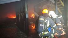 Massive fire in Kranji warehouse put out by SCDF after hours-long battle