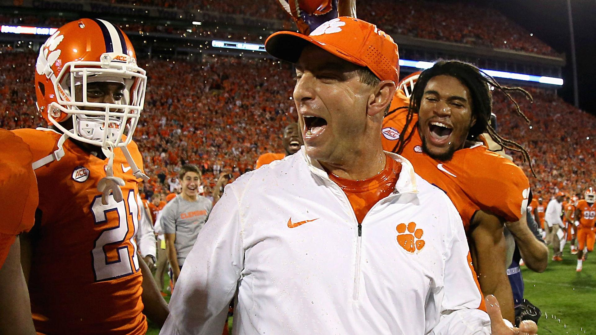 Clemson coach Dabo Swinney says player protests create ...